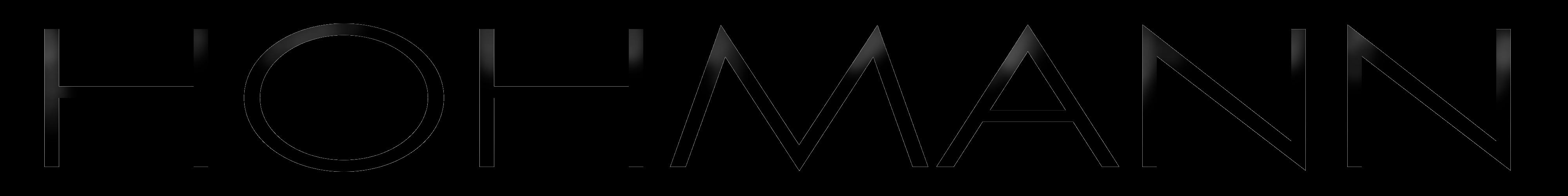 Logo metallic no background - black